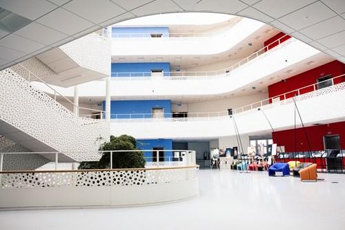 bild som visar interiör från Handicapens hus i Danmark