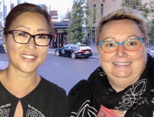 Två nya ledamöter i styrelsen som valdes in på årsmötet 2020, Anette och Moncia